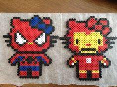 Spider-man & Ironman = SpiderKitty & IronKitty