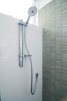 Ensuite bathroom shower detail featuring mosaic tiles | Petrina Turner Design | Interior Design.jpg