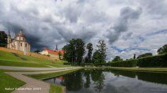 #DE #Neuzelle #Kloster #Klostergarten #Spiegelteich