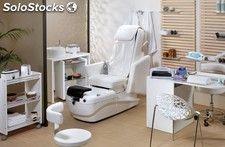 Mobiliario Cabina Estetica : Carrito de manicura mobiliario de estética spa
