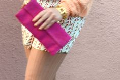 Hot pink suede from Kate Spade. Check out the rest of the outfit at infoodiefashion.com <3 ana