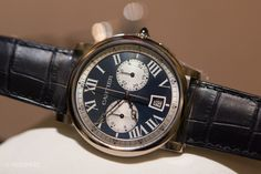 Introducing The Rotonde de Cartier Chronograph, 40mm And Just Right (Live Pics, Specs, Official Pricing) — HODINKEE - Wristwatch News, Reviews, & Original Stories
