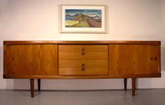 Bramin teak sideboard, designed by H. W. Klein, Denmark, 1960's