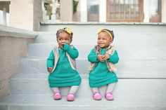 Twin girls photoshoot  unashamedgrowth.com Photo by: Christin McQueen Armstrong