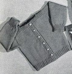 Speed Knit Cardigan Pattern