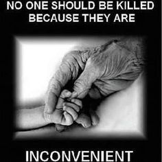 You would kill a baby because you think it will affect your way of living. Would you kill an elderly person who needs your assistance because there affecting your way of living? Would they not be considered human because they are dependant on you?