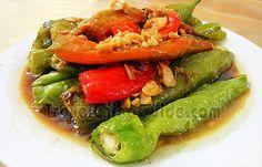 Pan-Seared Green Chili Pepper
