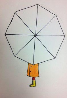 Sınıfımda Yaptırdığım Şemsiye Etkinliği Kalıbı - Okul Öncesi Etkinlik Kütüphanesi - Madamteacher.com