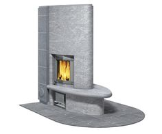 Fiorina Fireplace by Tulikivi on HomePortfolio Restaurant Fireplace, Home Fireplace, Fireplaces, My Coffee Shop, Backyard House, House Landscape, Rustic Cottage, Soapstone, Garden Planning