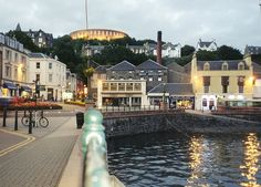 Oban, Scotland.  I visited with my Grampee the Summer after high school graduation.  Beautiful and memorable.