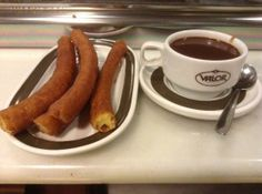Churros at Cafe Valor!
