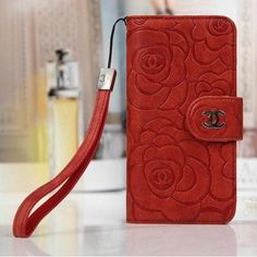 coque/étui/portefeuille Chanel rose vintage pour iphone 6/6 plus iphone 5/5s