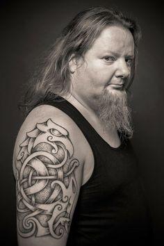 Armor tattoo nordic