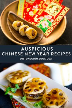 From Chinese almond cookies, whole steamed fish, dumplings to chashu fried rice, these Chinese New Year recipes are auspicious to grace your holiday menu. May these lucky dishes usher in happiness and good fortune for you this new year!