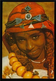 Africa   Berber girl from Morocco