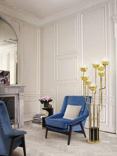 ErstaunlichesDesign aus Portugal für das perfekte Wohndesign | Samt Sessel | Messing Möbel | BRABBU Inspirationen | www.brabbu.com