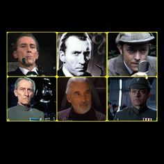 """tea-at-221b-blog: """" Star Wars and Sherlock Holmes Strangely, three actors have also appeared as Holmes and in memorable roles in Star Wars Peter Cushing: Grand Moff Tarkin. Star Wars: A New Hope. Christopher Lee: Count Dooku. Star Wars: Attack of the..."""