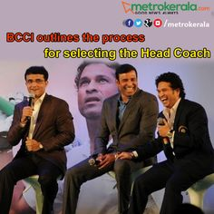 BCCI outlines the process for selecting the Head Coach http://metrerala.com/2016/06/bcci-outlines-process-selecting-head-coach/ #BCCI #cricket #Sachin # Ganguly