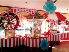 Cute! Decor ideas to use over and over for carnival?