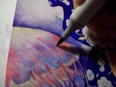 Creating a Mystical Mood with Copic Markers