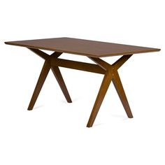 Baxton Studio Lucas Dining Table | from hayneedle.com