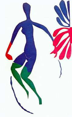 Henri Matisse, Blue Nude with Green Stockings, Gouache on paper, cut and… Henri Matisse, Matisse Art, Matisse Paintings, Picasso Paintings, Pablo Picasso, Matisse Pinturas, Gouache, Maurice De Vlaminck, André Derain