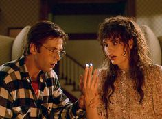 Tim Burton Characters, Tim Burton Films, Beetlejuice Cast, Geena Davis, Beetle Juice, Little Shop Of Horrors, Michael Keaton, Movie Couples, Alternative Movie Posters