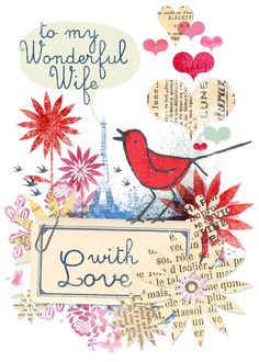 VALENTINE CARDS for THE ART GROUP by MACRINA BUSATO, via Behance
