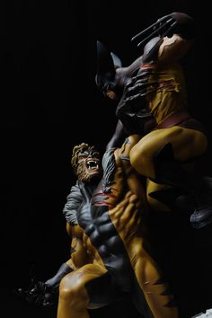 X-Men Sabertooth | Wolverine Vs Sabretooth MIB Mint Statue Diorama Sideshow X Men figure