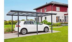 This amazing photo is unquestionably an impressive style approach. Gazebo Curtains, Gazebo Canopy, Carport Modern, Garage, Carports, Aluminium, Cool Photos, Pergola, Outdoor Structures