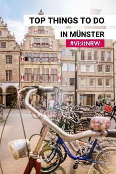 Münster is a city of trends and traditions. It is one of the most peacemaking and bicycle-friendly cities, but creative hotspot and open-air gallery at the same time. Münster is full of surprises. What are you waiting for? #VisitNRW #Münster #citytrip #Germany #holidayinspiraton #thingstodo #travelinspiration © Dagmar Schwelle Bicycle Friendly Cities, Claes Oldenburg, North Rhine Westphalia, City Break, Town Hall, Great View, Old Town, Lovers Art, Night Life