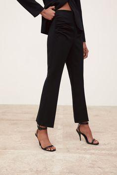03ad82f88f RUCHED STRETCH PANTS-DRESS TIME-WOMAN-CORNER SHOPS