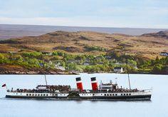 Scotland Cottage - Home Bunch - An Interior Design & Luxury Homes Blog | Waverley Paddle Steamer in Loch Gairloch