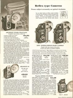 Photina Twin Lens Reflex Camera