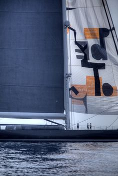 Big!!! Sailing yacht Aglaia, Monaco.