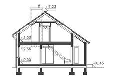 Zobacz powiększenie przekroju - projekt Stamford Stamford, Wardrobe Rack, Outdoor Structures, Architecture, House, Home Decor, Arquitetura, Decoration Home, Home