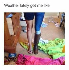 More like in one hour! lol ~~ When the weather drops 30 degrees in one day. I Love To Laugh, Make You Smile, Funny Quotes, Funny Memes, Hilarious, Stupid Memes, Lol So True, Favim, Just For Laughs