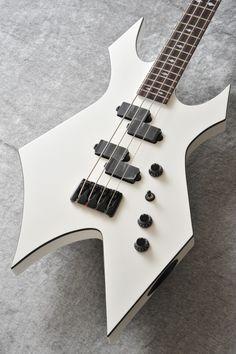 B.C.Rich 1983 Warlock Bass (Pearl White)〔J1983WBWH〕【ベースセット付】【送料無料】【楽天市場】