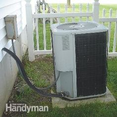 Fix a Sinking Air Conditioner Pad | The Family Handyman