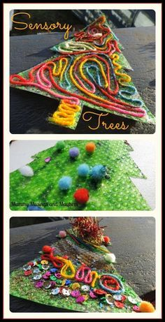 Sensory Christmas Trees for all ages - Mummy Musings and Mayhe