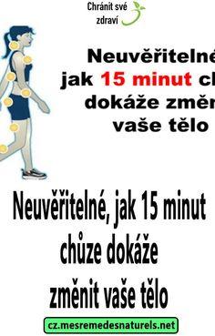 Neuvěřitelné, jak 15 minut chůze dokáže změnit vaše tělo Baby Decor, Tv, Memes, Per Diem, Television Set, Tvs, Meme, Television