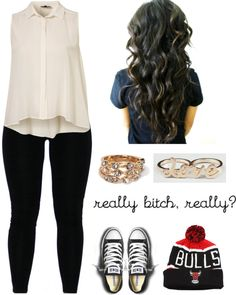 """""""Wonderin Whats On Your Mind, It Must Be Hard To Be That Fine ♥"""" by latina-swagg ❤ liked on Polyvore"""