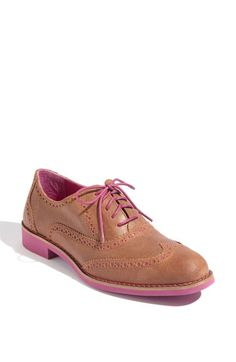 Cole Haan Alisa Oxford - get outta town - look at the sole & the lining.   When did creative become the norm?  Dunno, but I like it!