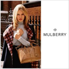 Georgia May Jagger for Mulberry Fall Winter 2015 Campaign