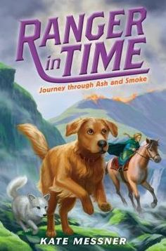 Belated Thursday Book Club! Ranger is a time-traveling golden retriever with search-and-rescue training. In this adventure, he goes to Viking age Iceland, which proves to be tough terrain...