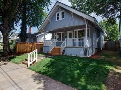 This was a fantastic home renovation, a 1914 Craftsman Bungalow located in the Alberta Arts District of Northeast Portland, OR.