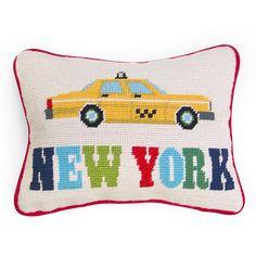 Jet Set New York Cushion