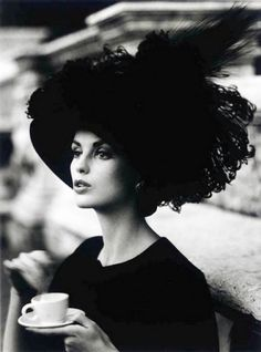 Dorothy in Rome, 1962, a photo by William Klein