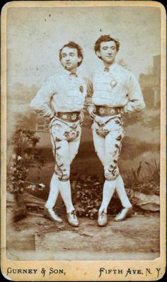 "Where can I get this pants? |ca. 1860-80s, ""Sheridan & Mack, clog dancers,"" [carte de visite portrait of two vaudeville dancers], Gurney..."