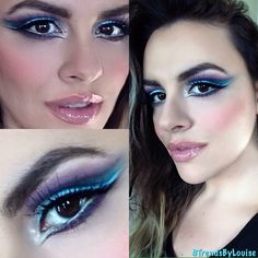 Graphic Eyeliner by Trends by Louise. Graphic Eyeliner, Halloween Face Makeup, Trends, Artist, Artists, Amen, Beauty Trends